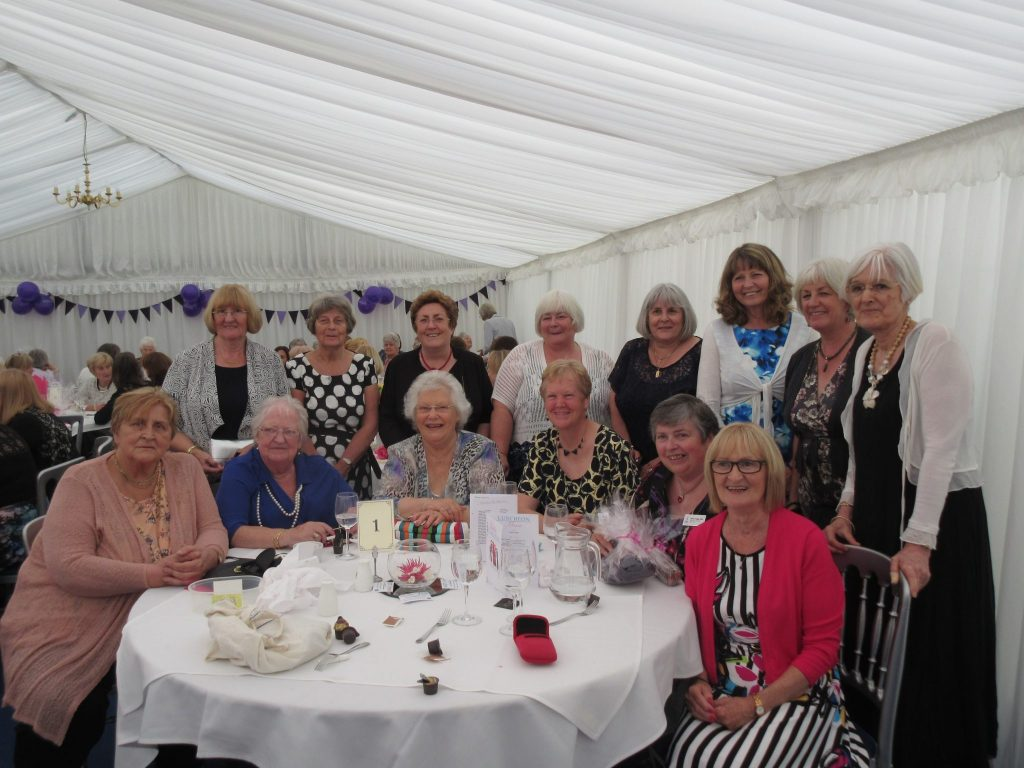 Ladies lunch in aid of Halton Haven
