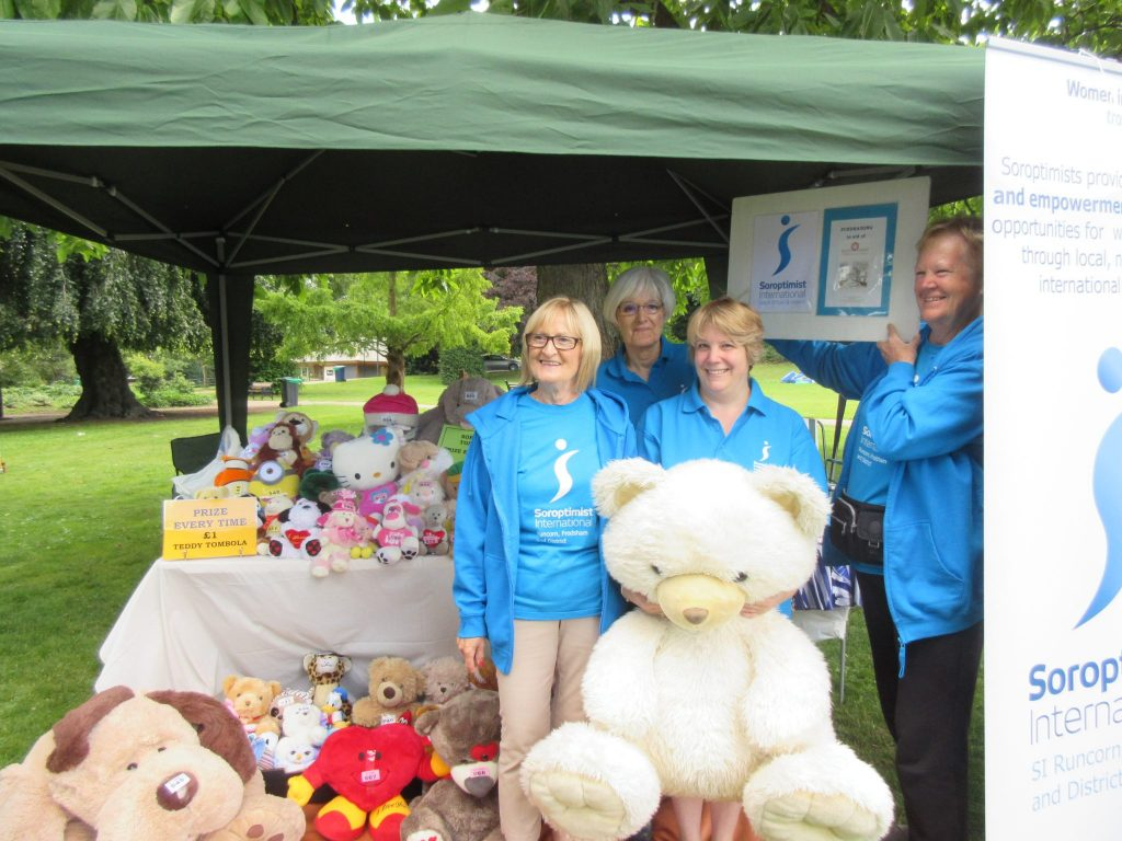 Teddy Tombola for Halton Haven