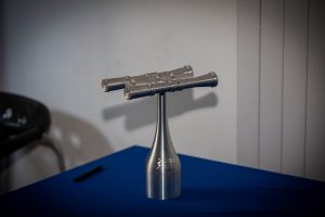 The STEM Challenge trophy