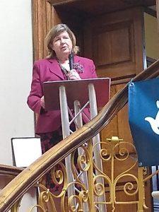 Mayoress Carrie Walsh launching Her Salisbury Story