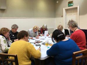 One of the creative writing workshops