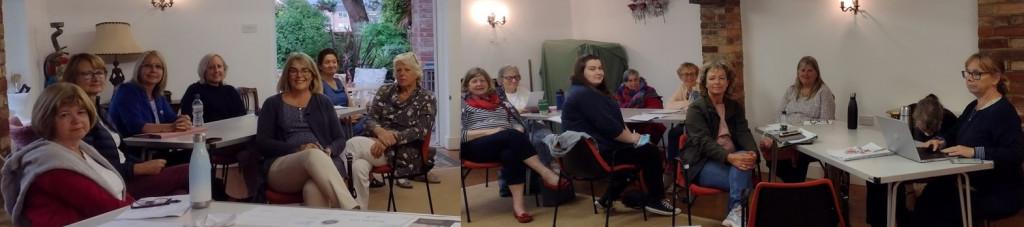 Members at the June 2021 meeting