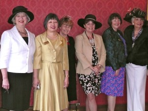 Ladies enjoy the Highland Lunch