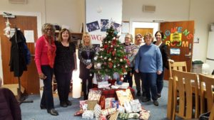 6 12 2019 SI Glasgow City Annual delivery of Xmas presents to Tomorrow's Women.