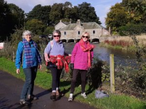 SI Dunfermline Virtual Kiltwalk, 3 of 4 members who took part 12 09 2020