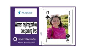 SI Paisley member Marissa Playing Card 8 03 2021