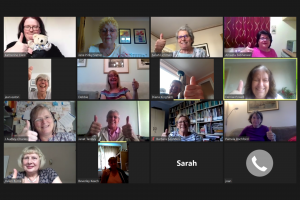 Soroptimist St Albans Lockdown Zoom Meeting