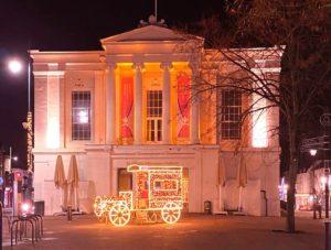 Soroptimist St Albans Museum Orange the World for 16 Days of Activism