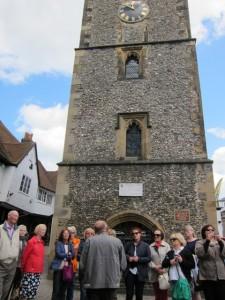 26-tour of St Albans - clock towerweb