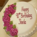 60-Sheila Birthday cake