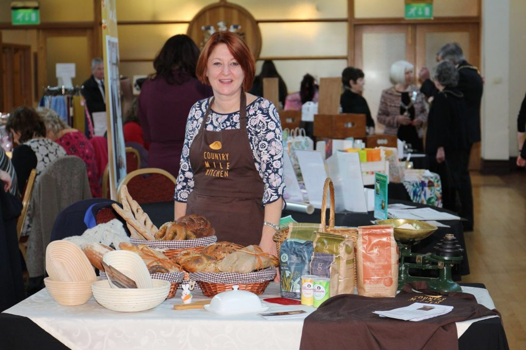 Helen showcases her new bread baking classes