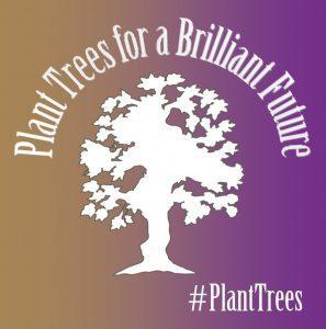 Plant Trees for a Brilliant Future logo