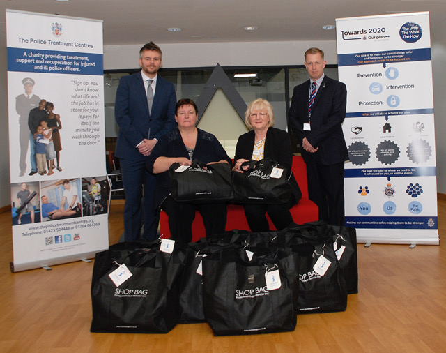 Providing starter bags for vulnerable people