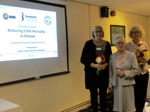 Elaine Clarke and Sharon Maxted from SI Kenilworth and District with Ann Middleton, Immediate past President from SI Stourbridge and District at our business meeting 7th October 2015