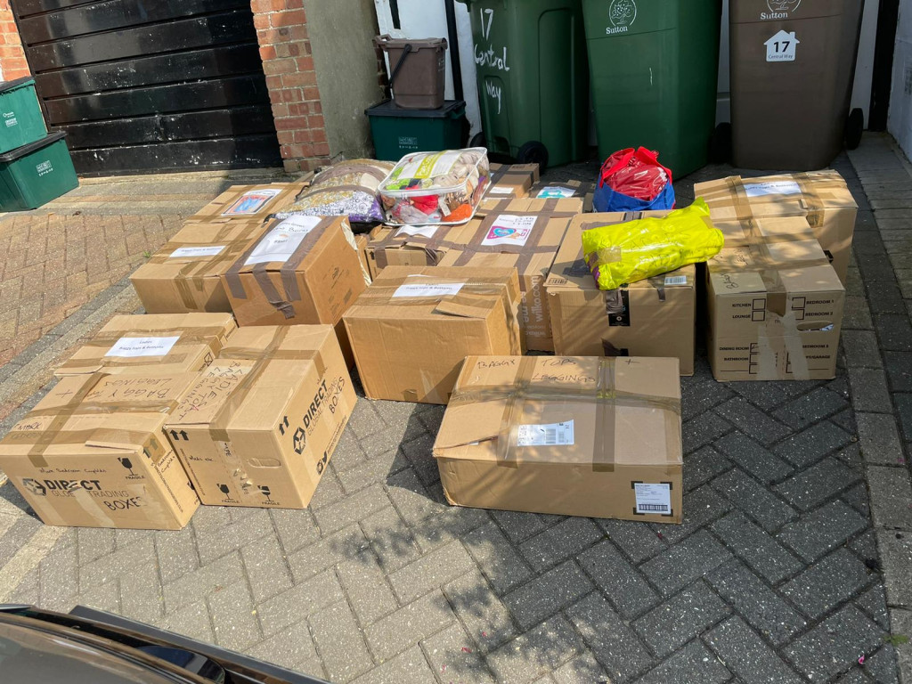 Donations for Afghan mums
