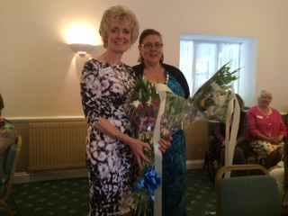 SWCI Regional President Kay with SI Cirencester President Kathy