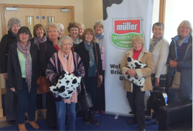 S.I.Bridgwater enjoyed a very interesting visit and tour of the Muller Wiseman dairy and depot. The dairy, which collects and provides milk for the Midlands and the West Country can pasteurise 100,000L of milk per hour and produces around 1.6 million litres per day. Amazing!