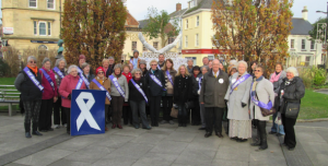 SI Barnstaple at the start of their 'Domestic Violence Awareness Week'