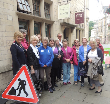Bath Soroptimists organised a guided walk of Bradford on Avon. Club member and keen historian Jenny led us.