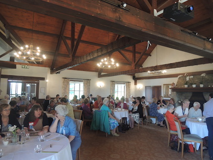Delegates at the 76th Region AGM of the South West & Channel Islands at Camberwell Park golf Club 25th June