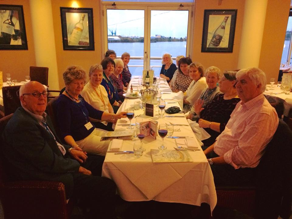 Members of SI Cirencester at dinner