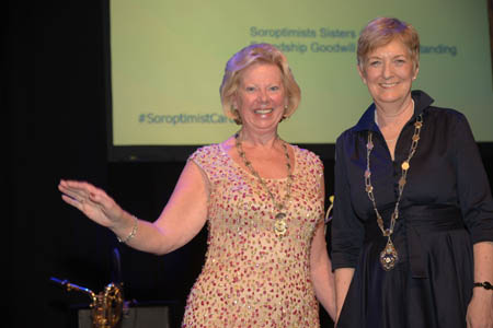 Our Regional President Daphne Dowsing and Sue Biggs