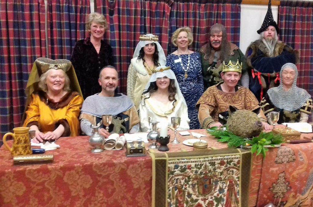 Great time had by all at SI Tiverton's Medieval Murder Mystery Dinner, raising £1,251 for charity!