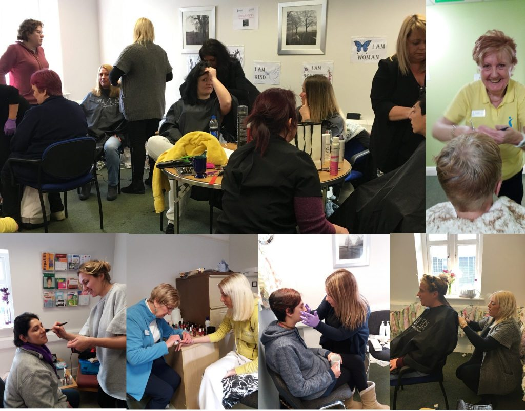 Plymouth Soroptimists organised a day of top to toe beauty treatments and treats for around 40 women who use the Shekinah Mission (a Devon based charity that provides opportunities for people in recovery).  They were generously supported by local beauticians and hairdressers.
