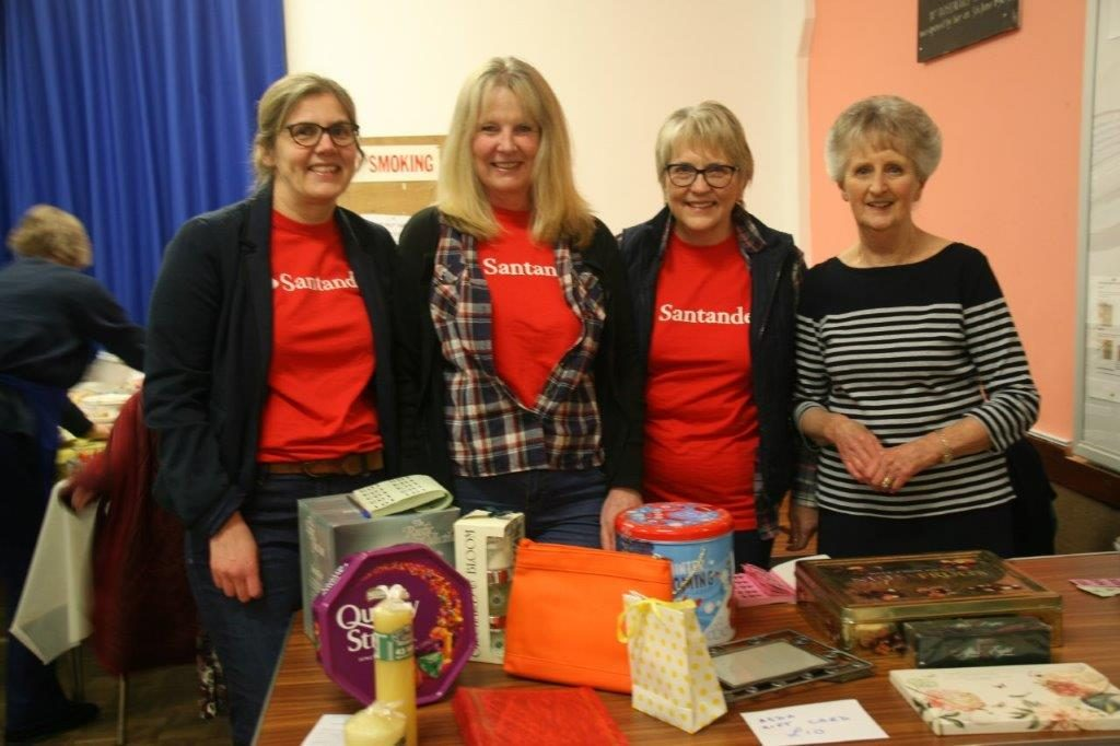 St Austell Soroptimists organised a Barn Dance in aid of the Mid Cornwall Women's Refuges.  The funding was matched by the St Austell branch of Santander, making a total of £1,550.