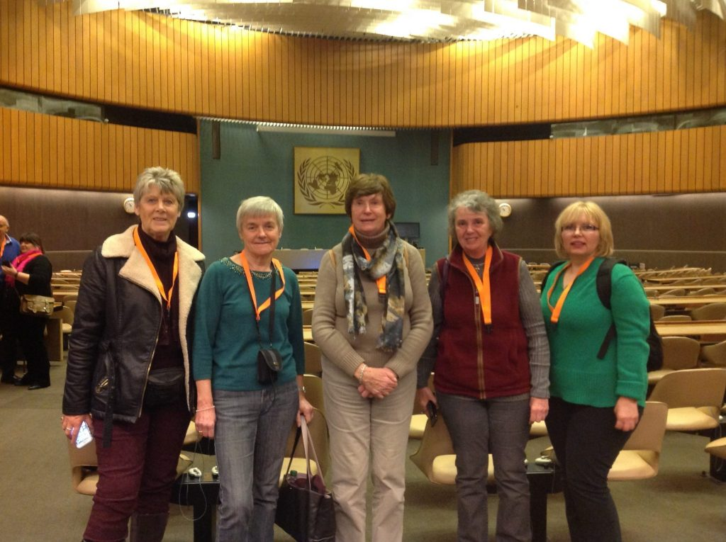 Members of SI Weston-super-Mere at the UN.