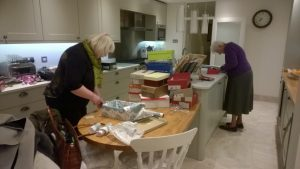 soroptimists packing Xmas boxes 2016 2