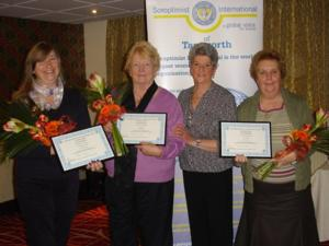 Long Service Awards January 2012