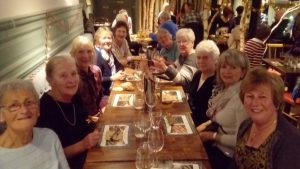 "We had a great weekend in London staying at ""63"" the Soroptimist Club on the Bayswater Road.. We saw lots of the sights and some of us went to the Remembrance Day Ceremony at the Cenotaph. We also went to see the musical ""Beautiful"" and had a lovely meal beforehand."""