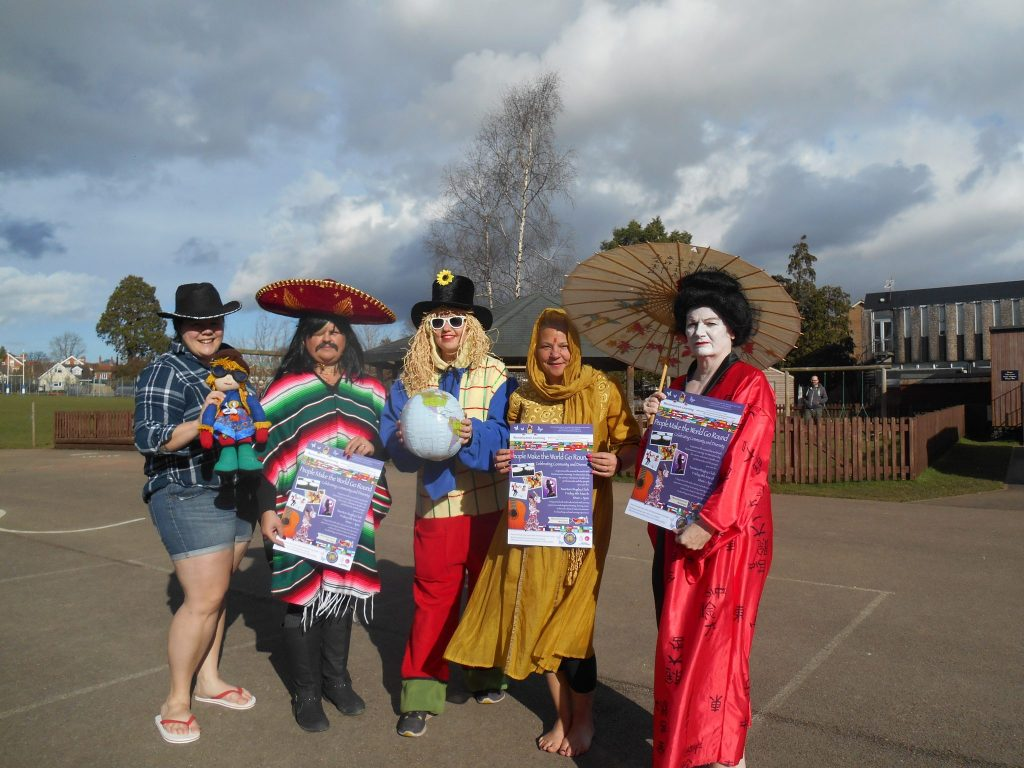 Archie's Friends from Around the World - Reminiscence Learning's Team with a Theme entry