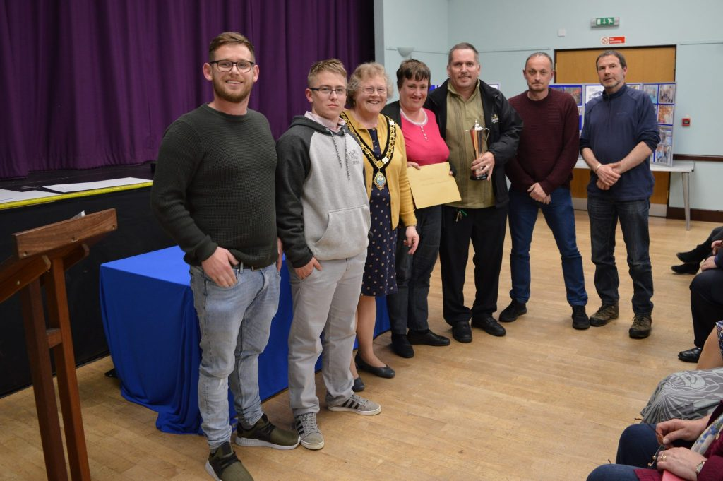 Churchview - winners of the CS Williams Challenge Cup Swimathon Committee Special Award for the team making exceptional effort during the Swimathon