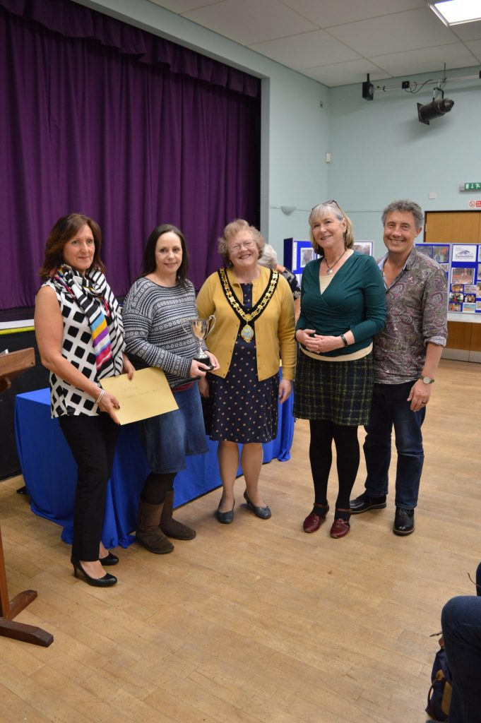 CA-TFISH - a team from Taunton Citizen's Advice who won the Clarke Willmott Trophy for the Legal Team raising the most money - £781