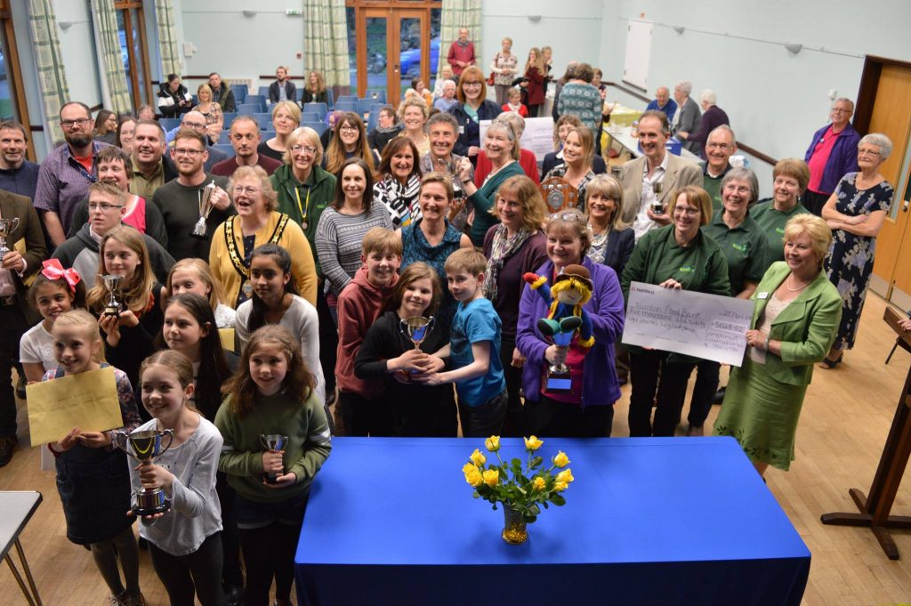 Swimathon Presentation Evening 2018 where we presented trophies to winning teams and cheques totalling £20,189.49 to the 3 charities - St Margaret's Hospice, Taunton Foodbank and Mind TSW
