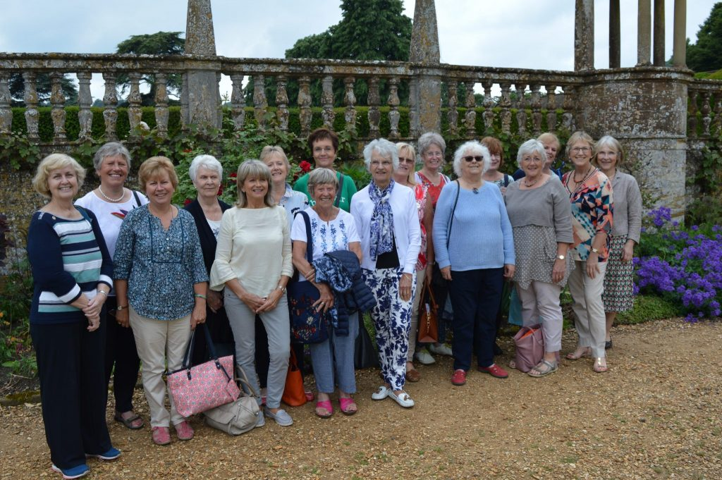 80th Anniversary visit to Montacute House where Club members and visiting Soroptimists had a guided tour and picnic lunch