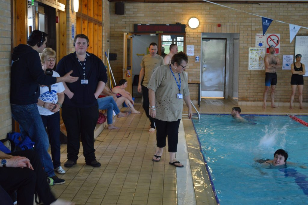 We had a visit from BBC Bristol who came as part of their Sunday morning 'Clueless' Programme.  Oaklea Care are enjoying their swim.