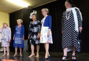 Our super Soroptimist models