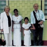 Dilini and Buddhini in 2005