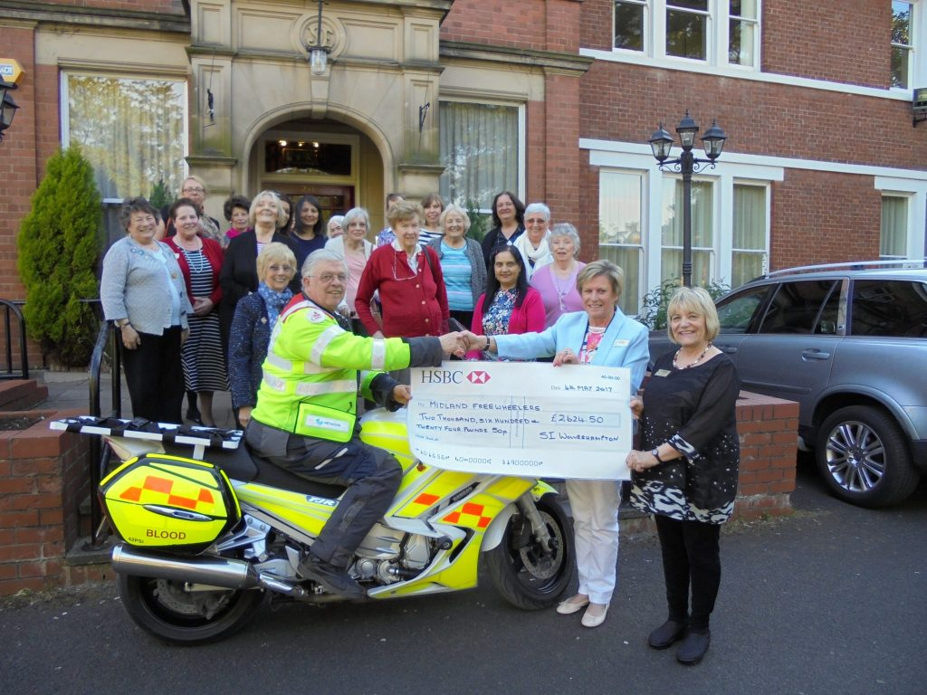 Helping Midland Freewheelers